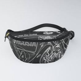 Motorcycle 1 Fanny Pack
