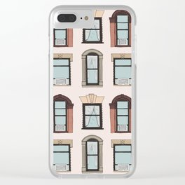 Upper West Side Windows Clear iPhone Case
