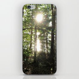 A Light at the End of the Forest iPhone Skin