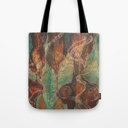 Ecstatic Pelvis (Meat Flame) Tote Bag