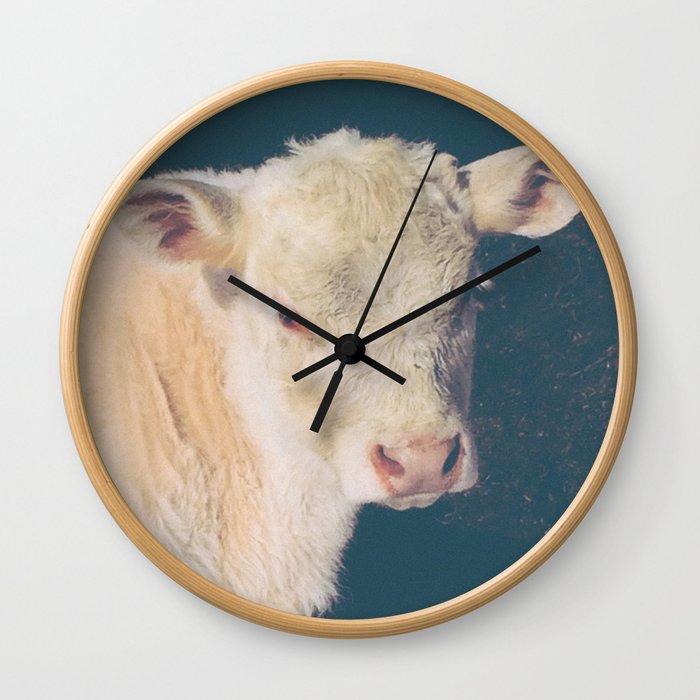 Calf Wall Clock