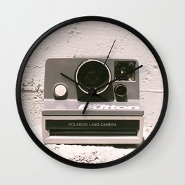The Button, 1981 Wall Clock