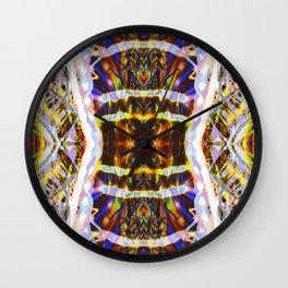 Light Dance Kaleidoscope Edit 1 Wall Clock