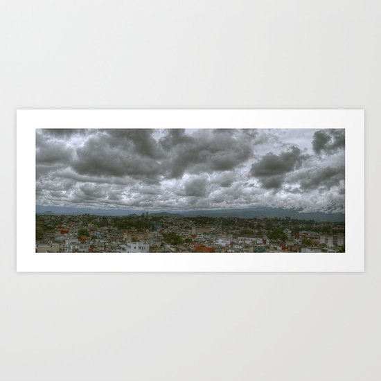 Nubes de verano Art Print