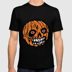 Jack-o-Lantern 2 Mens Fitted Tee Black MEDIUM