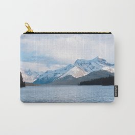 Snow Covered Mountain Photography Print Carry-All Pouch