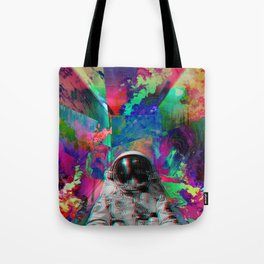 Tripping Space Man Tote Bag