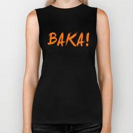 Baka Inspired Shirt Biker Tank
