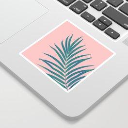 Tropical Palm Leaf #3 #botanical #decor #art #society6 Sticker