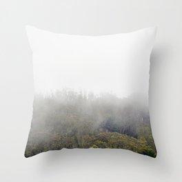 Rolling Fog Throw Pillow