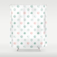insects Shower Curtains featuring Insects Flight by Julia Kisselmann