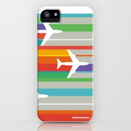 Swooosh-04 iPhone Case