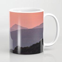 Sunset At The Misty Mountains. Sierra De Huetor. Spain Coffee Mug