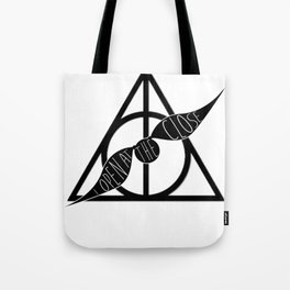 I Open At The Close Deathly Hallows Snitch Tote Bag