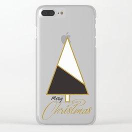 Glod Xmas #society6 #gold #xmas Clear iPhone Case