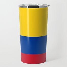 Colombia Flag Travel Mug
