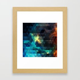 Galaxies I Framed Art Print