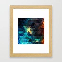 Galaxies I Framed Art Print