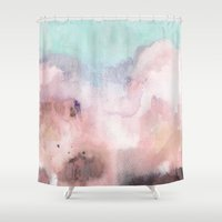georgiana paraschiv Shower Curtains featuring Nostalgia by Georgiana Paraschiv