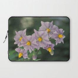 Potato Flowers Laptop Sleeve