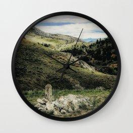Final View Wall Clock