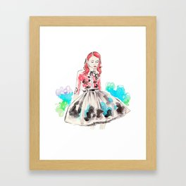 Sea of Shoes Framed Art Print