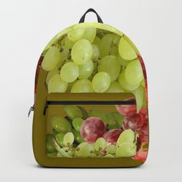 GREEN & RED GRAPE HARVEST  DESIGN Backpack
