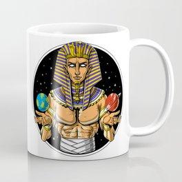 Space Egyptian Pharaoh God Coffee Mug