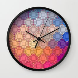 Indian pattern Wall Clock