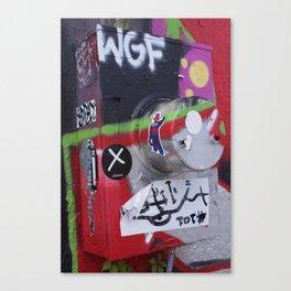 Art Meter Canvas Print