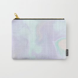 Holographic Marble x Purple Carry-All Pouch