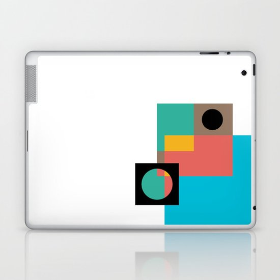 Geometric Crazy 1 Laptop & iPad Skin