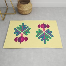 Vegetable: Beetroot Rug