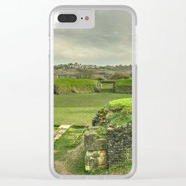 Caerleon Amphitheatre Clear iPhone Case