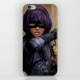 Hit Girl iPhone Skin