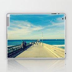 Pier Blue Laptop & iPad Skin