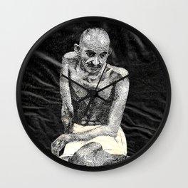 Mahatma Ghandhi Wall Clock