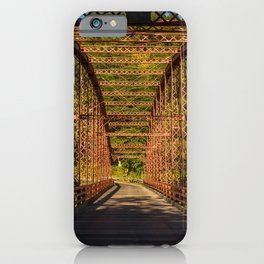 The Old Iron Bridge iPhone Case