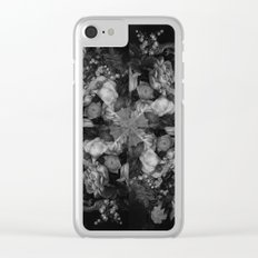 Botanical Darkness Kaleidoscope Clear iPhone Case
