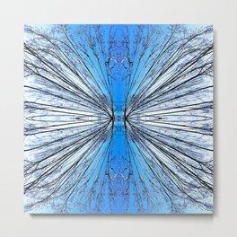 174 - Tree abstract design Metal Print