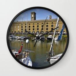 St Katherines Dock London  Wall Clock