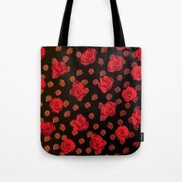 dark roses Tote Bag