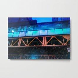 Windows of Blue Metal Print