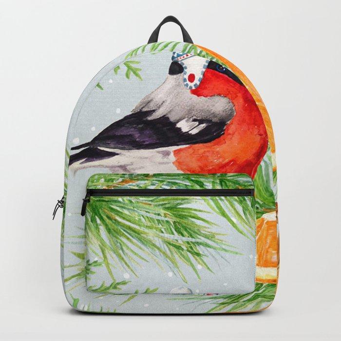Winter animal #9 Backpack