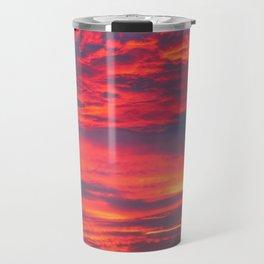 Inferno Sky Travel Mug