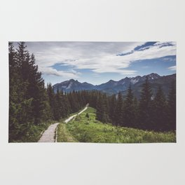 Greetings from the trail - Landscape and Nature Photography Rug