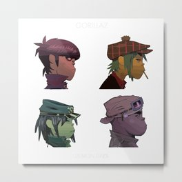 Gorillaz Demon Days Metal Print