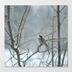 Crown of Snow Canvas Print