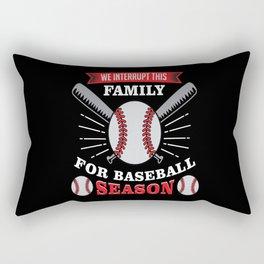 Baseball Baseball Ball Baseball Gift Rectangular Pillow
