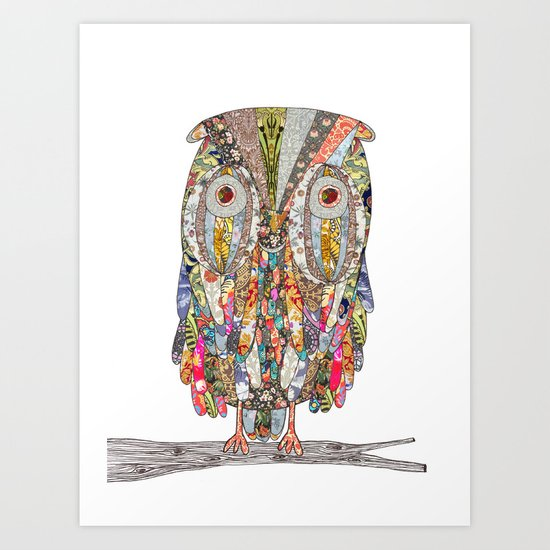 I CAN SEE IN THE DARK Art Print